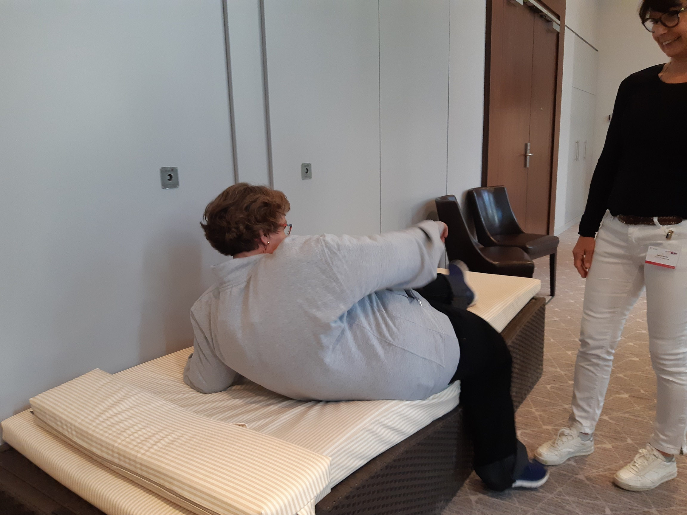 Alterssimulation und Adipositassimulation: Im Körper des Patienten